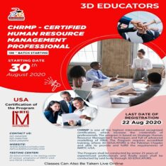 CHRMP – Certified Human Resource Management Professional Training