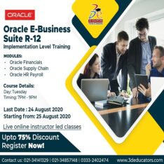 Oracle E – Business Suite R – 12 Training