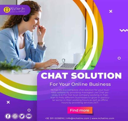 NChat Inc. Managed Live Chat Experts