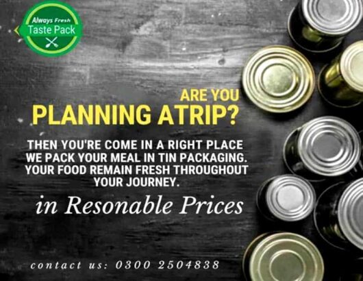 Tastepack Canning Service is a Best Canners in Karachi