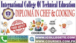 Advanced Chef and Cooking Course In Rawalpindi Islamabad