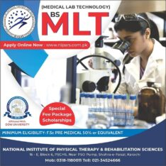 National Institute of Physical Therapy and Rehabilitation Sciences Karachi