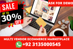 Multi Vendor Ecommerce Marketplace Website