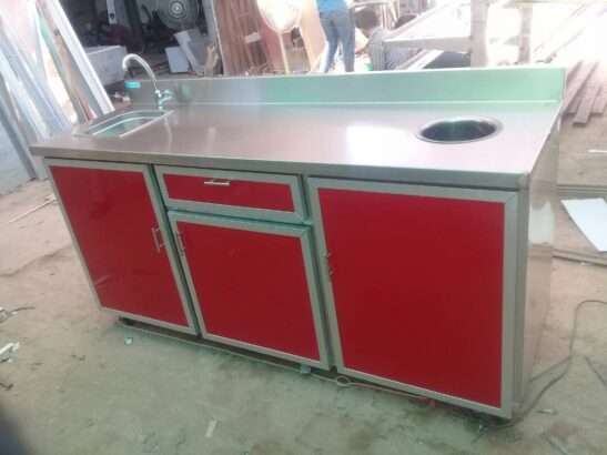 Meat Prep Table, Meat Cutting Table, Table for Meat Shops in Pakistan