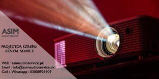 Multimedia Projector on Rent in Karachi – Asim Audio Service