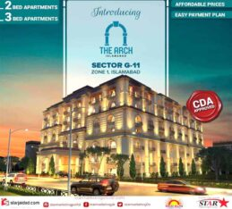 The Arch Islamabad.2 & 3 Bed Luxury Apartments in Islamabad