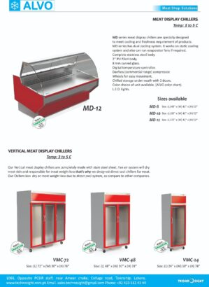 Equipment for Meat Shops in Pakistan