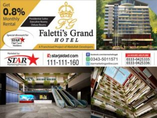 Your Own Room in Faletti's Grand HOTEL Galiyat, Murree
