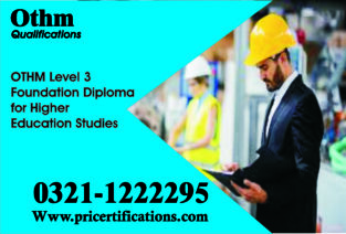 Level 3 Foundation Diploma for Higher Education course in islamabad