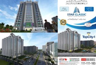 1/2/3 Bed Luxurious Apartments.Star Classic Topcity-1
