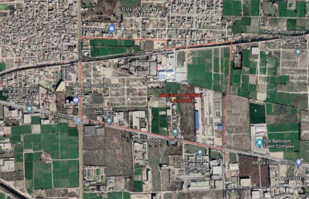 3.5 Marla Plot For Sale in Dream Avenue Lahore
