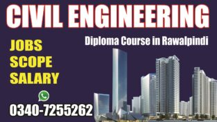 Civil Engineering Diploma Course, in Rawalpindi, Islamabad, Pakistan.