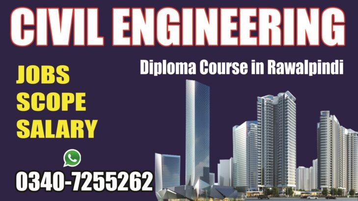 Civil Engineering Diploma Course, in Rawalpindi, Islamabad, Pakistan.
