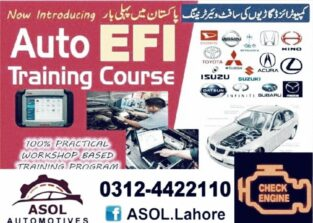 Auto Efi course, ASOL AUTOMOTIVES.. lahore, Islamabad