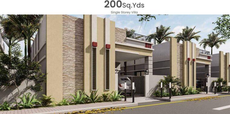 INDUS ENCLAVE Single Storey Villas.Your Dream House