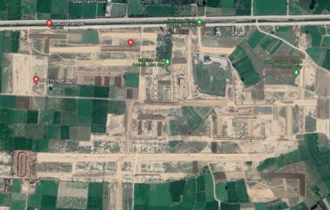 LDA City Iqbal Sector.2,1 Kanal & 10,5 Marla Residential Plots