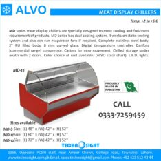 ALVO Meat Prep Table, Meat Cutting Table, Table for Meat Shops in Pakistan
