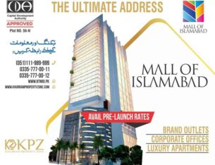 Mall of Islamabad.Apartments   Offices & Shopping Mall