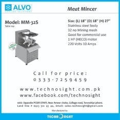 ALVO Meat Mince Machine, Meat Shops in Pakistan, Meat Display Chiller