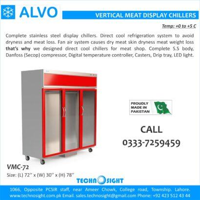 ALVO Meat Shops in Pakistan, Meat Shops Equipment sale in Pakistan