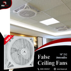 FAN PRO Top Quality Energy Saving 18″ 2×2 False Ceiling Fan