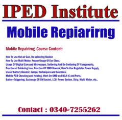 Mobile Hardware Repairing Course in Islamabad, Rawalpindi, Pakistan.