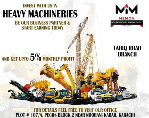 we are dealing in import export of heavy machinery cars