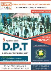 Karachi Institute of Physical Therapy and Rehabilitation Sciences Karachi