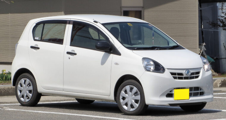 Get Daihatsu mira 2020 on easy monthly instalment