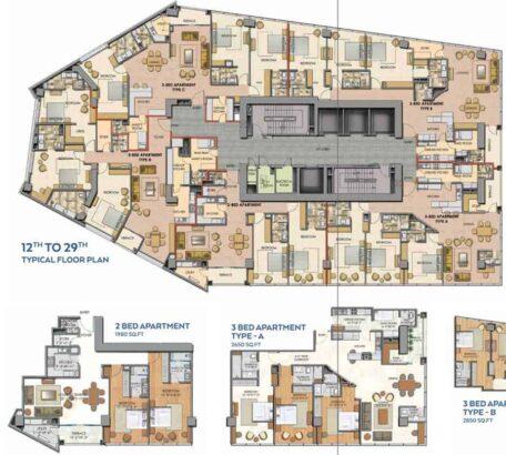 Hoshang-Pearl-Karachi.Luxury-Living-in-Prime-Location-layout-plan-1