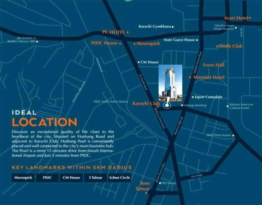 Hoshang-Pearl-Karachi.Luxury-Living-in-Prime-Location.location-map