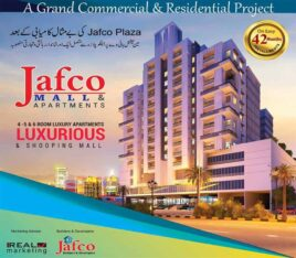 Jafco Mall & Apartments.Shopping Mall & Apartments Together