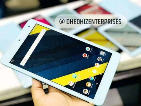 Kyocera Qua Tab Original Japan Stock.Delivery All over In Pakistan