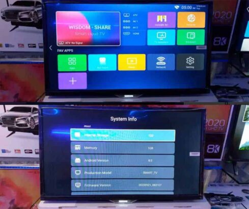New Smart SUHD LED TV 42 Inch Android Version