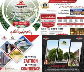 Zaitoon City Lahore.Residential/Commercial Modern Project