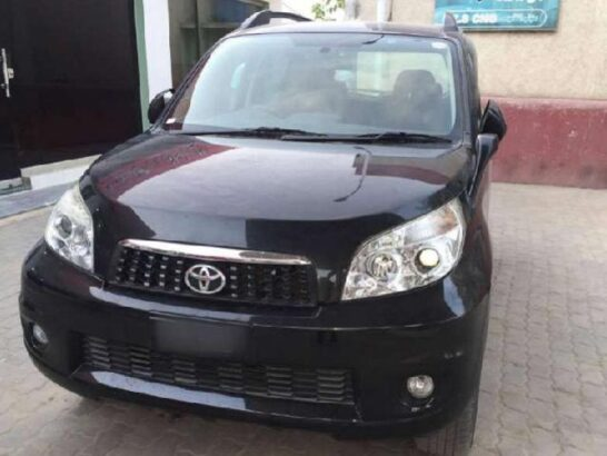 Toyota Rush G L Package On Easy Monthly Installments