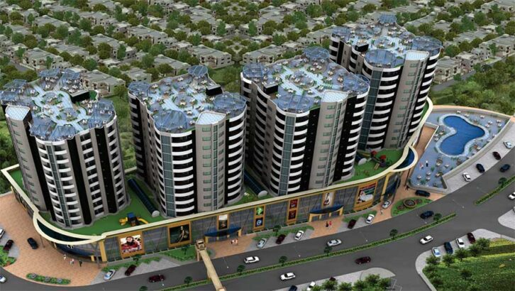 Las Torres Towers & Mall.1,2 & 3 Bedroom Apartments
