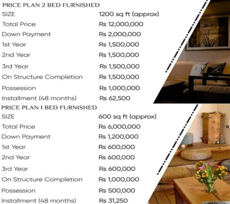 Saltanat-Hotel-and-Serviced-Apartment-BTK.on-easy-monthly-installment.apartments-price-plan