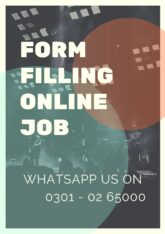 Form filling online jobs are offering by authentic company BFES Services