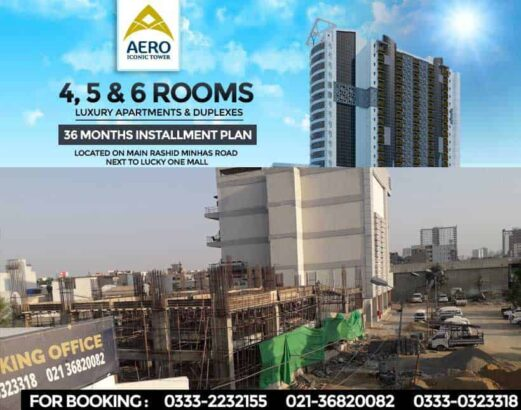 Aero-Iconic-Tower.3-4-5-6-Rooms-Apartments-Prime-Location