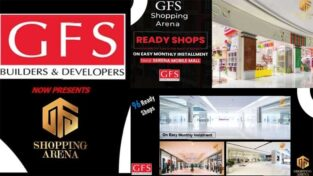 GFS Shopping Arena Karachi.Ready Shops in the heart of Karachi