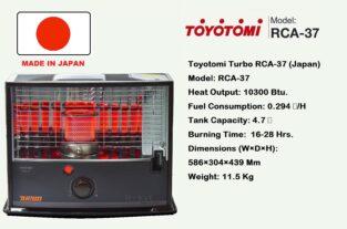 Toyotomi Turbo RCA-37 (Japan)