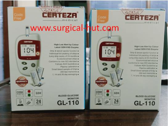 Blood Glucose Monitor-