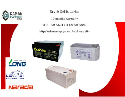 Long Dry Battery 200ah/12v with 10 months warranty