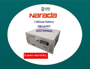 narada lithium battery 100ah/48v with 1 year warranty