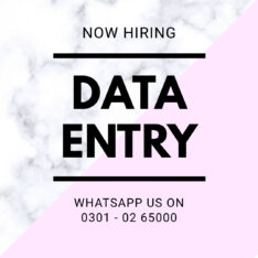 Cash your free time in online earning we provide multiple data entry job