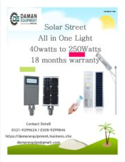 Solar Led Street Light 240w with 18 months warranty
