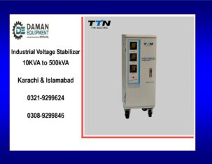 Voltage Stabilizer KRMM TND 100kva three phase with 18 months warranty