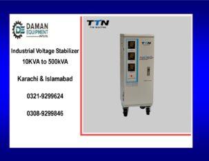 Voltage Stabilizer KRMM TND 100kva three phase with 18 months warranty