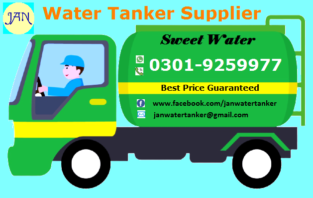 JAN Water Tanker Supplier